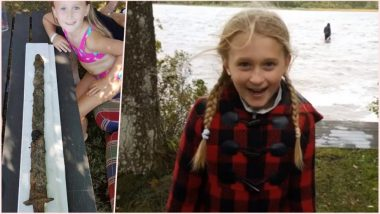 8-Year-Old Girl Dubbed 'Queen of Sweden' Shares Her Story of Pulling 15,000-Year-Old Sword Out of a Lake