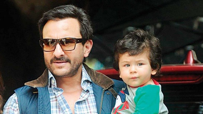 Ban on Taimur's Solo Pictures? Papa Saif Ali Khan Puts His Foot Down on Paparazzi's Obsession With the Little Tot!