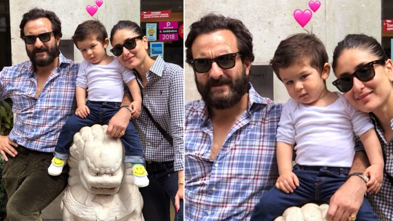 Anniversary Special! This Unseen Pic of Taimur Ali Khan With Kareena Kapoor and Saif Spells Picture Perfect