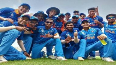 India Wins Under-19 Asia Cup 2018! India U-19 Team Beats Sri Lanka Comprehensively by 144 Runs to Clinch ACC Youth Asia Cup