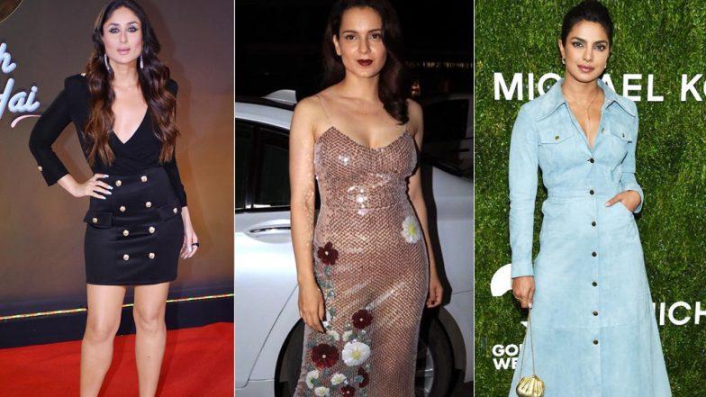 Style Diaries of This Week: Kareena Kapoor Khan, Priyanka Chopra Best-Dressed And Kangana Ranaut Worst-Dressed