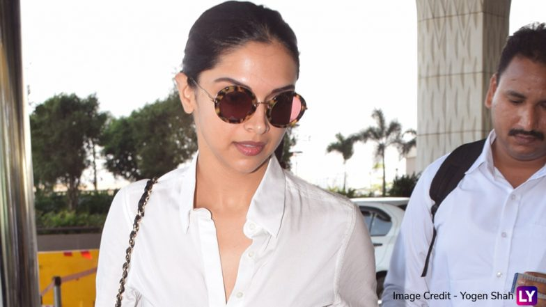Deepika Padukone Goes the Ranveer Singh Way, Actress Gives a Lungi Twist to Her Airport Look (View Pics)