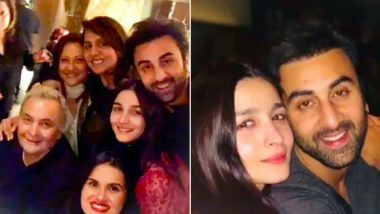 Alia Bhatt-Ranbir Kapoor Spending Time With Rishi Kapoor and Neetu Kapoor Is Making Fans Root For The Couple's Wedding! (View Pics)