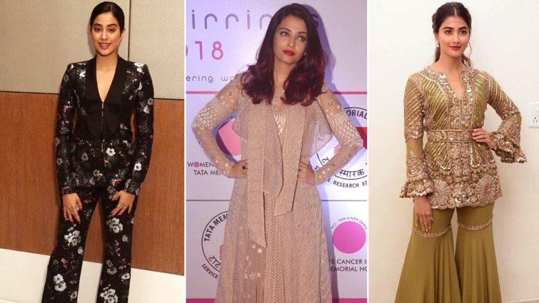 Style Diaries of this Week: Janhvi Kapoor, Aishwarya Rai Bachchan Best-Dressed And Pooja Hegde Worst-Dressed