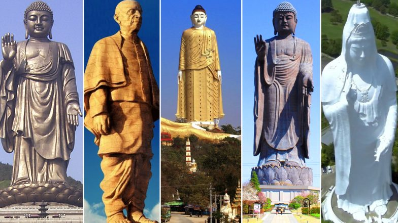 Sardar Patel's Statue of Unity 'Tallest in The World': List of Four Other Skyrocketing Statues