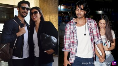 Sushmita Sen-Rohman Shawl and Harshvardhan Rane-Kim Sharma Make Their Relationships Paparazzi Official – View Pics
