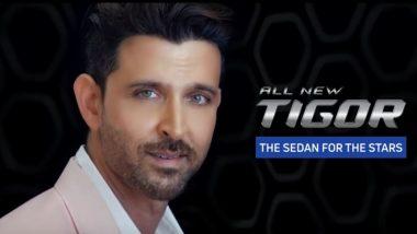 Hrithik Roshan Appointed As the Brand Ambassador for All-New Tigor Sedan