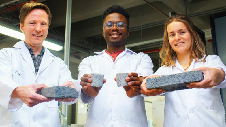 World's First Bio-Brick Made Out of Human Urine by a Group of South African Students