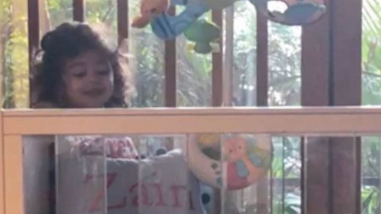 Big Sister Misha Playing With Baby Zain is the Cutest Thing You Will See On The Internet Today - Pic Inside