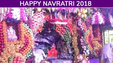 Maa Vaishno Devi Aarti And Darshan Live Streaming For Navratri Day 6: Watch Live Video From Mata Bhawan During Navaratri 2018