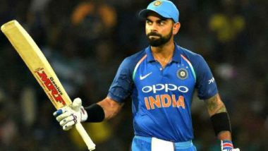 Virat Kohli Could Join 10,000 ODI Runs Elite Club of Sachin Tendulkar, MS Dhoni During India vs West Indies ODI 2018 Series!