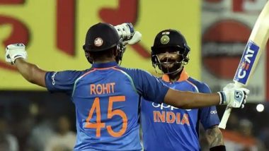 India vs West Indies 2018 1st ODI Video Highlights: Rohit Sharma & Virat Kohli's Centuries Help Ind Thrash WI by 8 Wickets