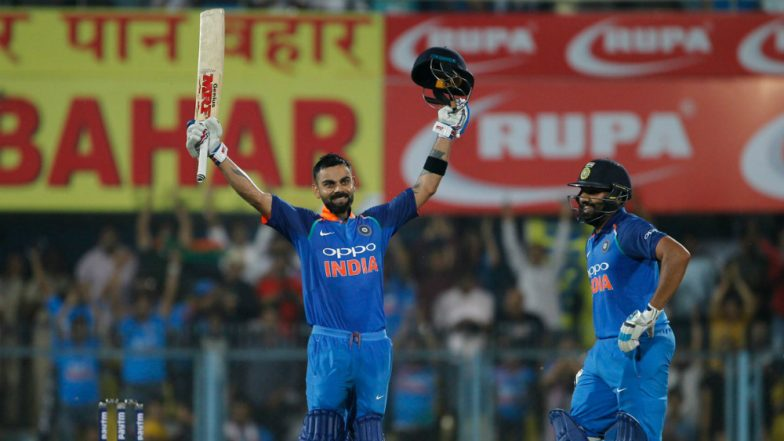 Virat Kohli Reaches 10,000 Runs Milestone in ODIs: Mumbai Police Wishes the Indian Captain in a Witty Manner!