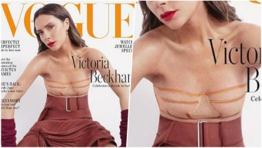 Is Victoria Beckham Reaching Out to Mastectomy and Breast Cancer Survivors in This Cover Shoot for Vogue Australia? View Pic