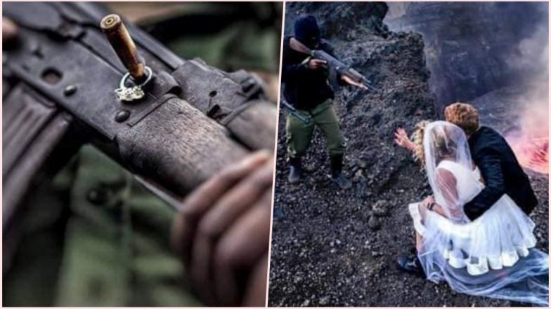 Couple's Congo Civil War-Themed Wedding Photoshoots Are Labelled As 'Insensitive'; Netizens Are Hating the Racist Viral Photos