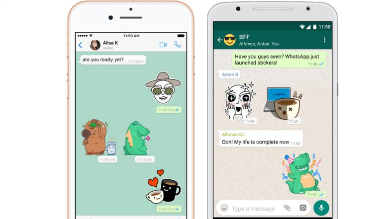 WhatsApp Stickers for iOS & Android! Here's How to Enable the Stickers for Chat & Impress Your Loved Ones and Friends