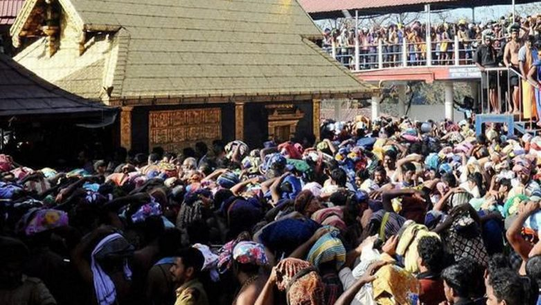 Sabarimala: Woman Stopped at Temple Entrance, Let In After Proving She Is 52