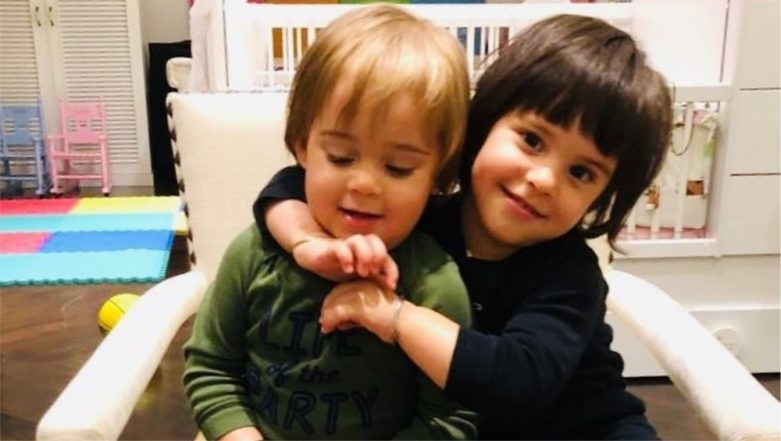 Karan Johar Shares an Adorable Picture of his Twins Yash and Roohi But Its the Caption That Will Melt Your Heart!