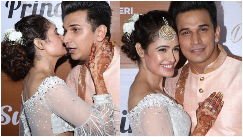 Prince Narula and Yuvika Chaudhary's Sangeet Ceremony Is Everything a Bride-to-Be Dreams Of - Watch Videos