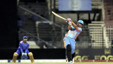 Hazratullah Zazai Pulls off a Yuvraj Singh, Hits Six Sixes in an Over for Kabul During Afghanistan Premier League 2018 Match (Watch Video)