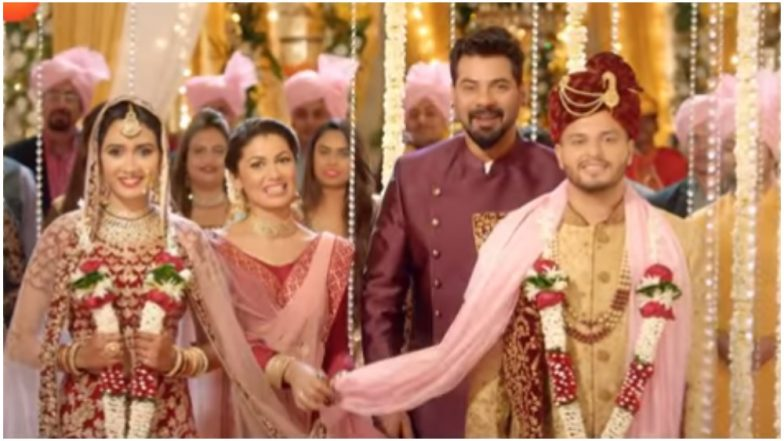 Zee Rishtey Awards 2018: The Family Is Coming Together for a Spectacular Wedding of a Real-Life Couple Priya Singh and Sunny Kakkar – Watch Video