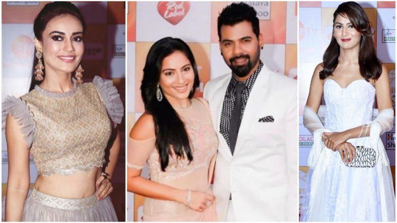 Zee Rishtey Awards 2018: Sriti Jha, Shabir Ahluwalia, Asha Negi and Others Graced the Red Carpet of Zee Rishtey Awards 2018 – View Pics