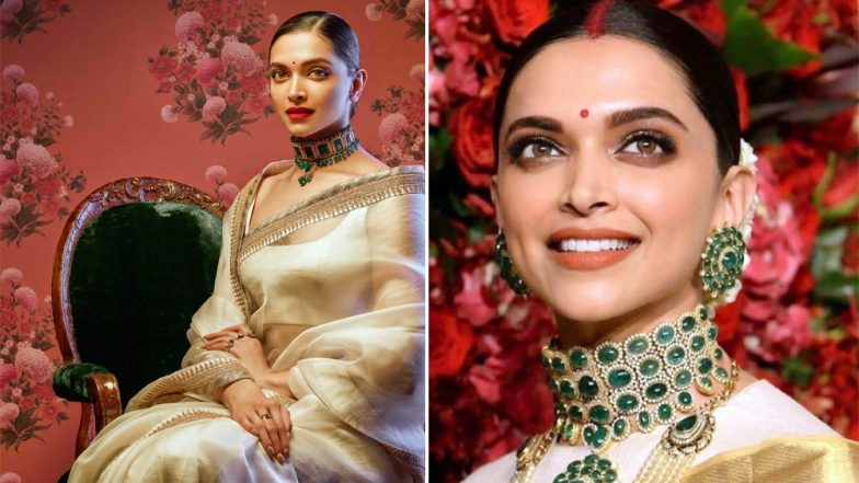 Deepika Padukone's Reception Look Was Borrowed From Her Own Previous Styling – View Pics