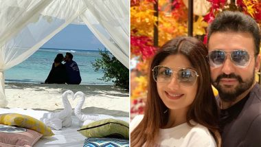 Shilpa Shetty and Raj Kundra Celebrate Their 9th Wedding Anniversary in Maldives and the Pics Will Make You Instantly Jealous!