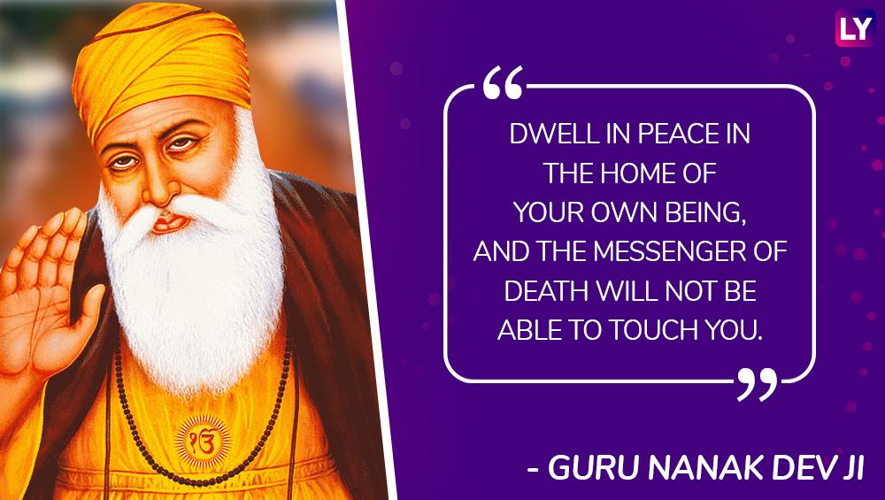 guru nanak gurpurab inspiring quotes from the first sikh