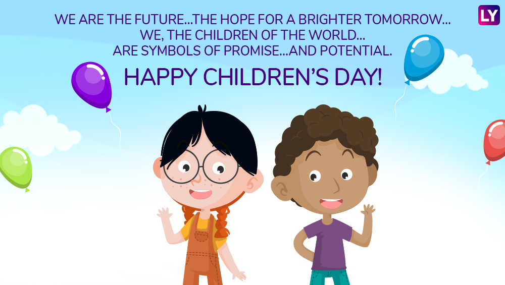 Children's Day 2018 Wishes: WhatsApp Messages & Stickers