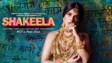 Richa Chadha as Shakeela Looks Very Convincing in the First Look Poster of the Biopic - See Pic