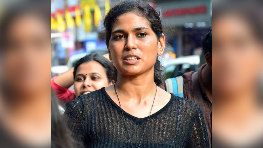 Rehana Fathima Kerala Based Activist Booked For Facebook Video Of Her Kids Drawing On Her Half Naked Body Latestly