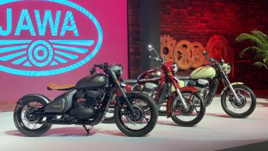 Jawa Brand Revived by Mahindra with 3 New Models; Jawa, Jawa Forty Two & Jawa Perak Launched in India Starting at Rs 1.55 Lakh