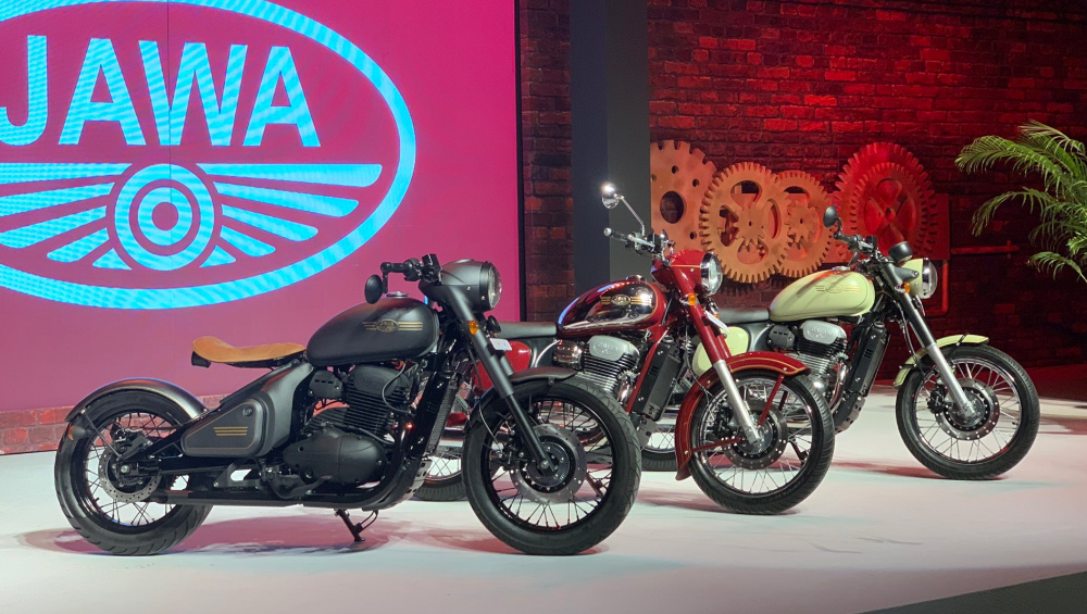 Jawa 300 cc motorcycle Launched