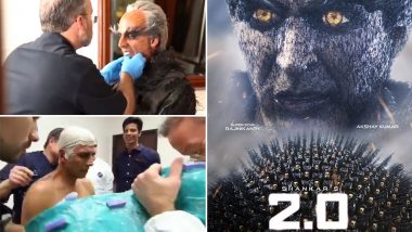 Here's What Went Into The Making of Akshay Kumar's Phenomenal Look in 2.0 - Watch Video