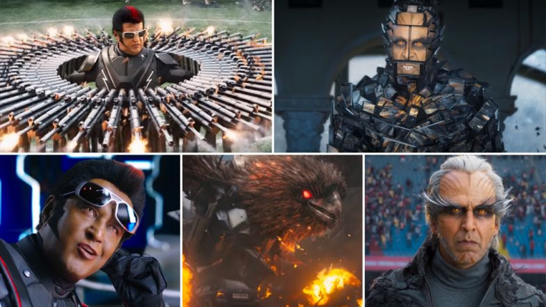 Rajinikanth and Akshay Kumar's 2.0 Reveals New Promo That Feels Like A Middle Finger To Its Recent Controversy! Watch Video