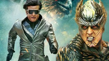2.0 Box Office Collection Day 4: Rajinikanth and Akshay Kumar's Sci-Fi Film Sees An Excellent Sunday, Collects Rs 95 crores