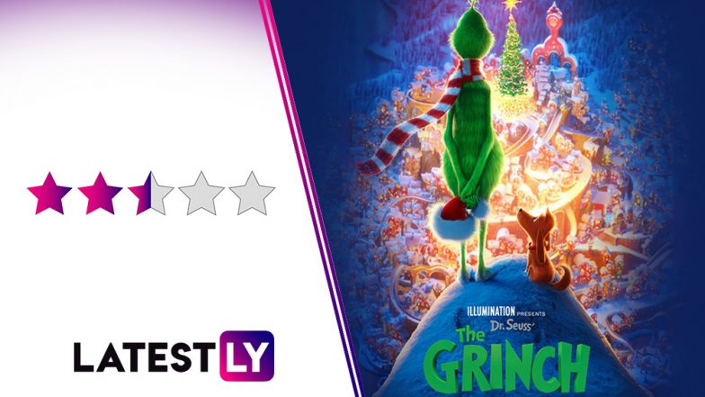 The Grinch Movie Review: Illumination Films Make Benedict Cumberbatch As The Mean Green Creature A Whole Lot Nicer