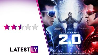 2.0 Movie Review: Rajinikanth and Akshay Kumar's Film is a 3-D Delight That Lags From Lowbrow Content Malware