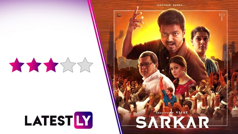 Sarkar Movie Review: Thalapathy Vijay's Diwali Blockbuster is Stylish, Sentimental And Entertaining