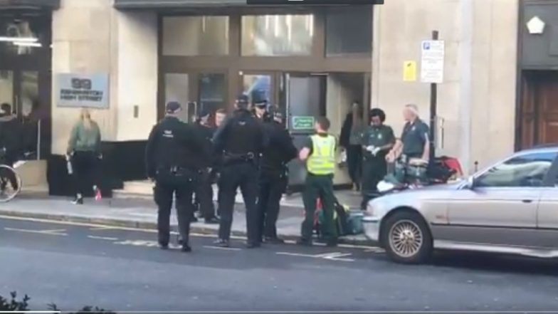 London Stabbing: 2 People Injured in Knife Attack at Sony Building at Kensington