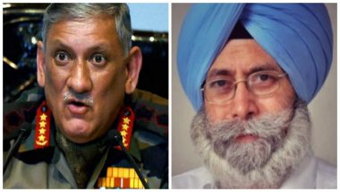 Amritsar Grenade Attack May be Orchestrated by Army Chief Bipin Rawat, Says AAP Leader HS Phoolka