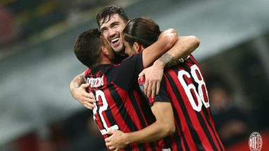 AC Milan vs Genoa, Italian Serie a 2018 Match Video Highlights: Alessio Romagnoli Scores at Both Ends As AC Milan Beat Genoa 2–1