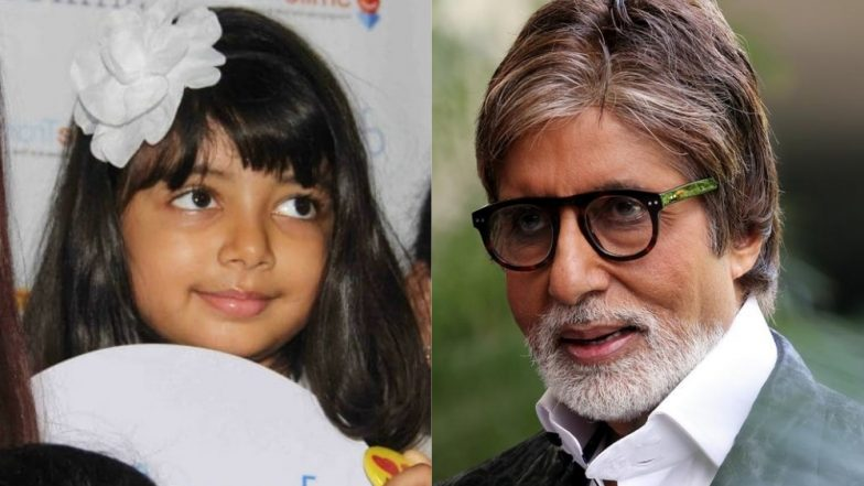Amitabh Bachchan's Granddaughter Aaradhya Bachchan Is Crazy About This Bollywood Song