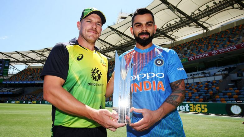 Live Cricket Streaming of India vs Australia 1st T20I on SonyLiv: Check Live Cricket Score, Watch Free Telecast of IND vs AUS on TV & Online