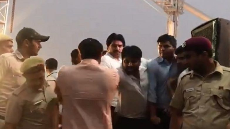 Delhi Signature Bridge Scuffle: AAP Leader Amanatullah Khan Denies Pushing Manoj Tiwari