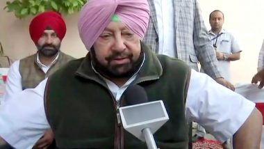 Navjot Singh Sidhu Probably Wants to Replace Me as Punjab Chief Minister, Says Captain Amarinder Singh