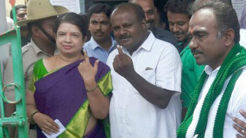 Karnataka Bypolls 2018 Results: CM HD Kumaraswamy, Wife Script History by Entering Assembly Together