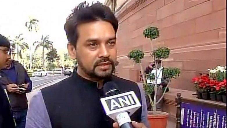 GST Council to Consider Reducing Tax on Electric Vehicles, Says Anurag Thakur