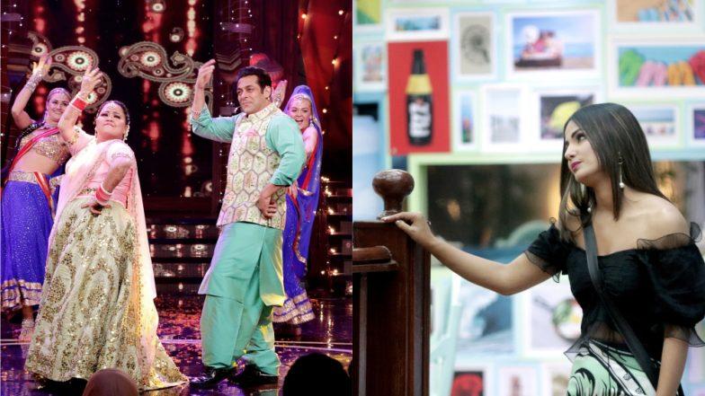 Bigg Boss 12: Salman Khan, Hina Khan, Bharti Singh Make Weekend Ka War Diwali Episode Super Special! Here's How (View Pics)